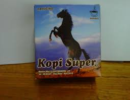 kopi super kuda liar archives istana jamu herbal indonesia