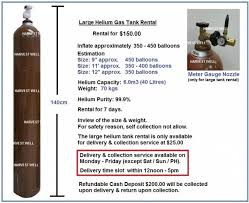 helium rental large helium gas tank rental tank l 150 00 party