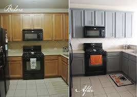 before after kitchen cabinets kitchen before and after kitchens black appliances and grey
