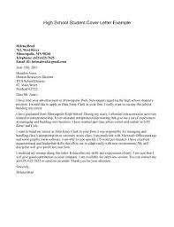 sample application letter for sample cover letter for