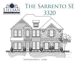 homes for sale with floor plans the sarrento se graham ranch new home floor plan north
