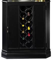 690003 howard miller wine bar black corner cabinet piedmont