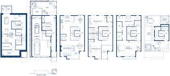 Townhome Floor Plan by Floor Luxury Townhome Floor Plans