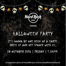 halloween party at hard rock hotel penang penang hotel