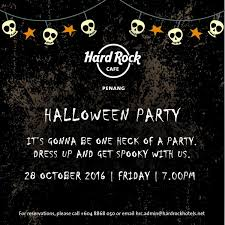 halloween event halloween party at hard rock hotel penang penang hotel