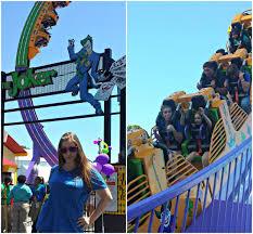 Batman Ride Six Flags Over Georgia Six Flags Over Georgia Opens Joker Chaos Coaster Theme Park