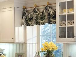Blue And Yellow Kitchen Curtains Decorating Decorating Kitchen Window Curtains Yellow Tier Curtains Bright
