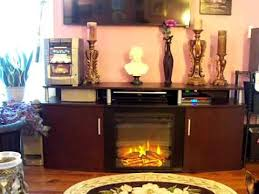 electric fireplace walmart black friday ameriwood home carson electric fireplace tv console for tvs up to