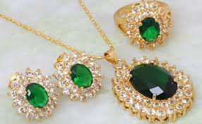 ladies necklace sets images Elegant ladies glittery jewellery sets ladies jewellery jpg