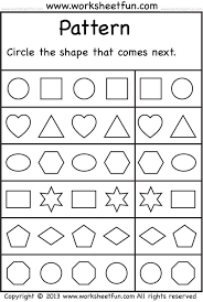identifying shapes worksheets kindergarten koogra