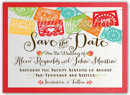 save the date birthday cards mexican paper flags save the date cards di 5018sd