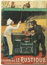 fr cuisine plaque metal 20x15cm publicite fourneau odelin le rustique amazon