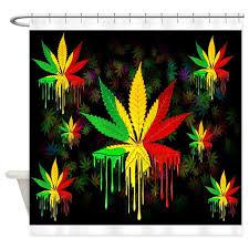 reggae shower curtains cafepress