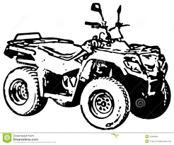 four wheel motorbike atv stock image image 22463391