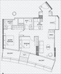 Bugis Junction Floor Plan Duo Residences D7 Apartment For Sale 75155012