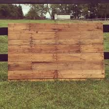 Wooden King Size Headboard by Diy Wood Pallet King Size Headboard Pallet Furniture Plans