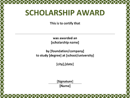 templates for scholarship awards wording for award certificates 5 plus scholarship award certificate