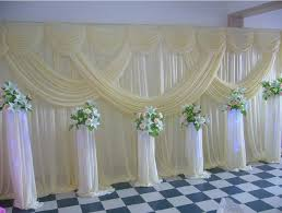 wedding backdrop curtains for sale express free hotsale ivory pink wedding stage backdrop decorations