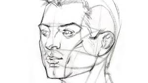 how to draw the head from any angle proko