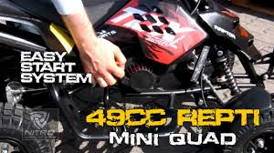 49cc repti mini quad easy start system exclusiv u0026 patentiert