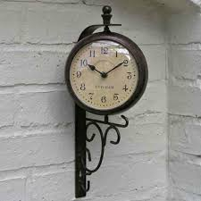 Garden Wall Clocks by Outdoor Evesham Clock U0026 Thermometer From Ruddick Garden Gifts