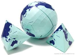 World Map Globe by Authagraph Globe Alexcious Products Alexcious