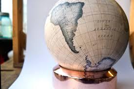 Small Desk Globe The Mini Desk Globe Now In Chagne Globemakers