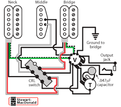 golden age humbucker wiring diagrams stewmac com