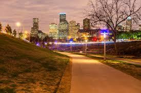 Light The Night Houston Lighting And Leaves At Buffalo Bayou Park Houston Chronicle