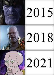 Meme Funny - evolution of thanos funny meme