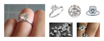 best place to buy an engagement ring where to buy a moissanite ring moissanite vs diamond rings