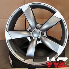 audi titanium wheels original oem audi rs 5 20 titanium rotor arm wheels fits a 5 s 5 q