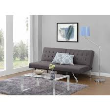 furniture grey futon beds target with floor lamp and rug for