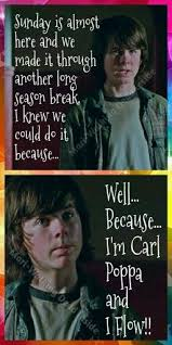 Walking Dead Meme Carl - the walking dead memes carl grimes carl poppa chandler riggs