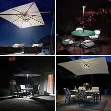 amir patio umbrella light cordless 24 led night lights import