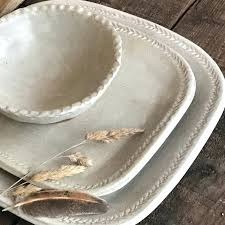 rustic stoneware dinnerware sets switch plates for sale melamine uk