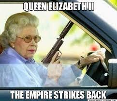 Queen Memes - queen elizabeth ii the empire strikes back gangster queen