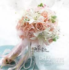 silk flowers for wedding wedding flowers artificial flower and bouquet for wedding