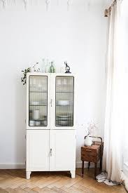 White Vintage Armoire Hutches Armoires