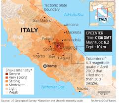 San Marino Italy Map by Italy Earthquake Watch As 10 Year Old Is Pulled Alive From