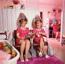 old fashinoned hairdressers and there salon potos 443 best vintage beauty salon pics products images on pinterest