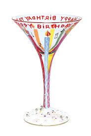 birthday cocktail amazon com love my martini glass happy birthday