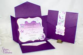 Quinceanera Invitation Cards Card Envelope Layout Over The Moon And Stars Quinceanera Or Sweet