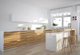 cuisine bois et blanche la cuisine blanche et bois dans tous ses états