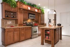 Cognac Kitchen Cabinets by Kitchens Modular Homes By Manorwood Homes An Affiliate Of The