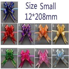 pull bows size small 12 208mm pull bows ribbons flower gift wrapping wedding