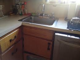 corner kitchen sink cabinet can a carpenter modify a blind corner cabinet to hold a sink