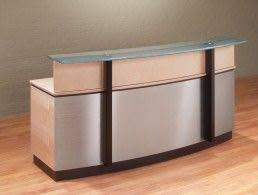 Metal Reception Desk The 25 Best Modern Reception Desk Ideas On Pinterest Reception