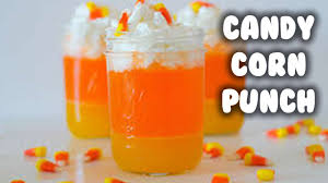 fall drinks candy corn punch u0026 icecream float youtube