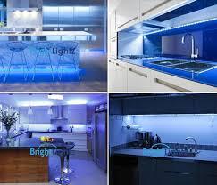Led Strip Lights Kitchen by Blue Led Strip Light Kit 2 X 50cm Kitchen Lighting Plasma Tv